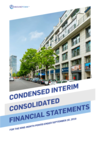 Q3 2019 Interim Consolidated Financial Statements
